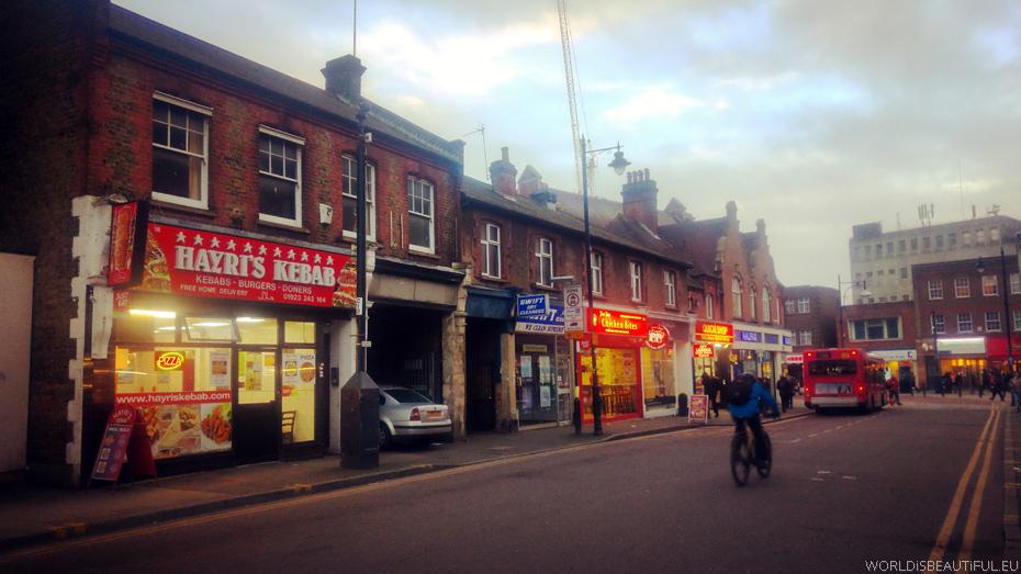 Brytyjska ulica