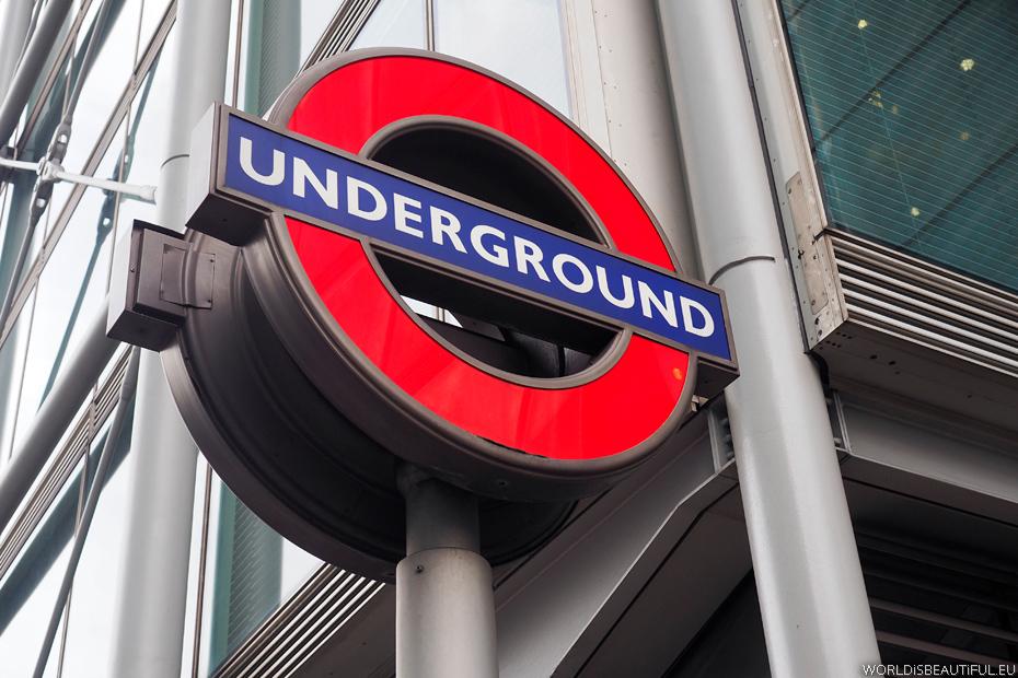Underground - metro w Londynie