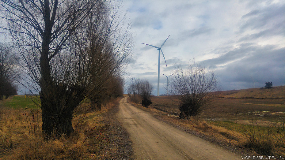 Wind power plants near Ketrzyn