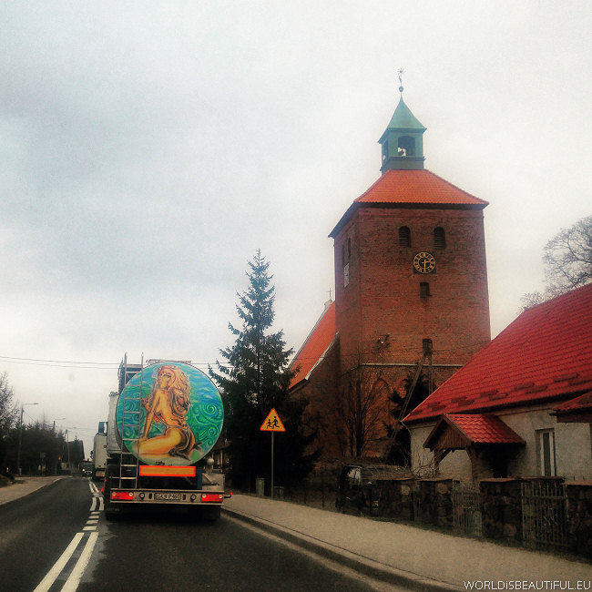 On the way to Ketrzyn