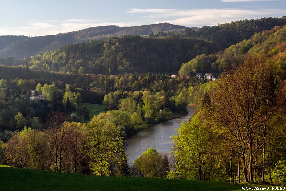 Poprad river, Żegiestów