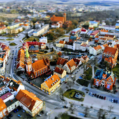 Kętrzyn - photos from above