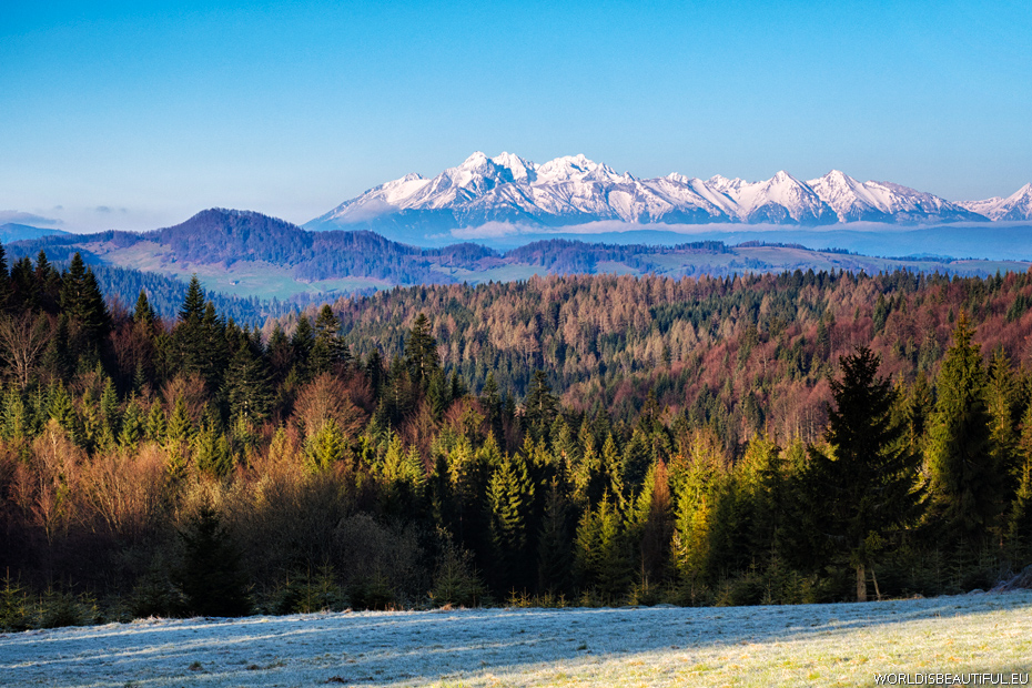 Panorama of the Tatra Mountains