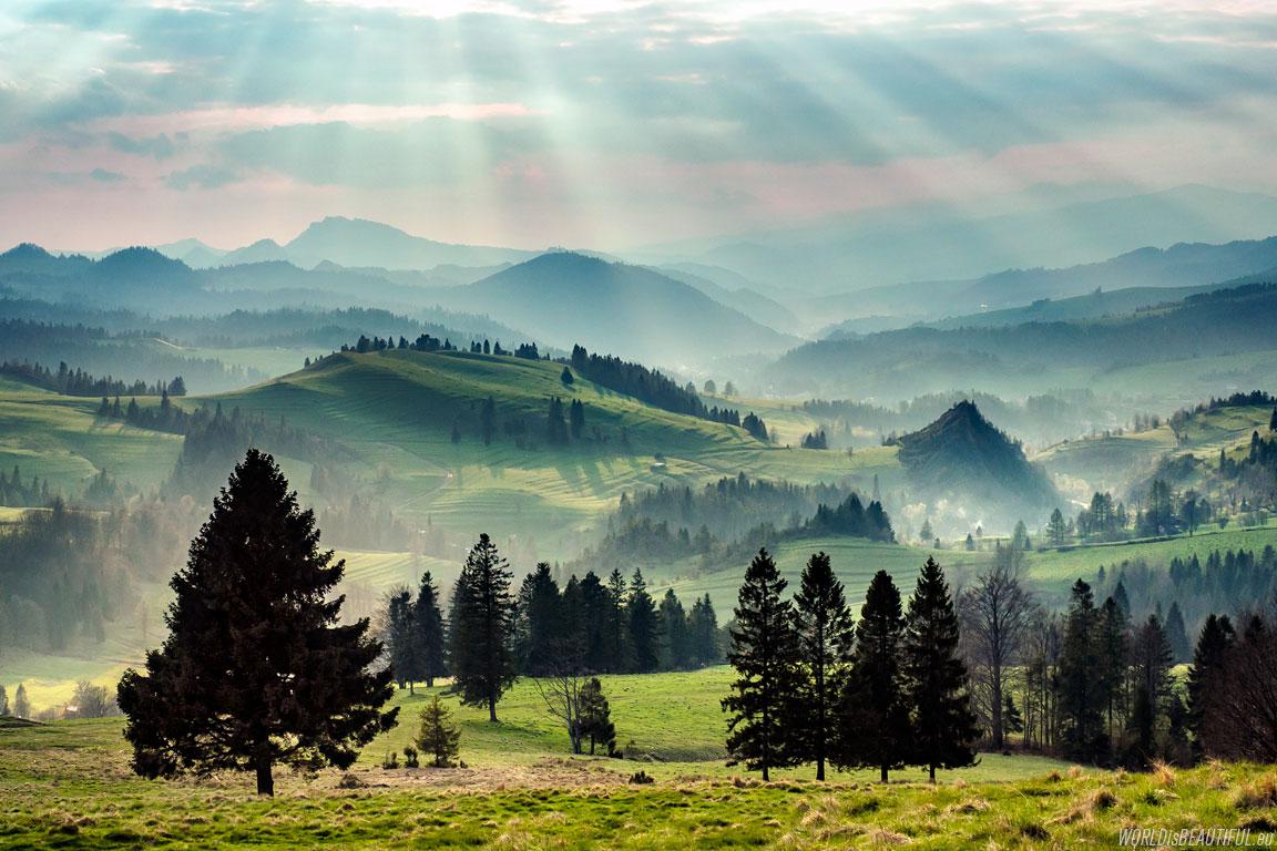 Najpiękniejsze miejsca w górach