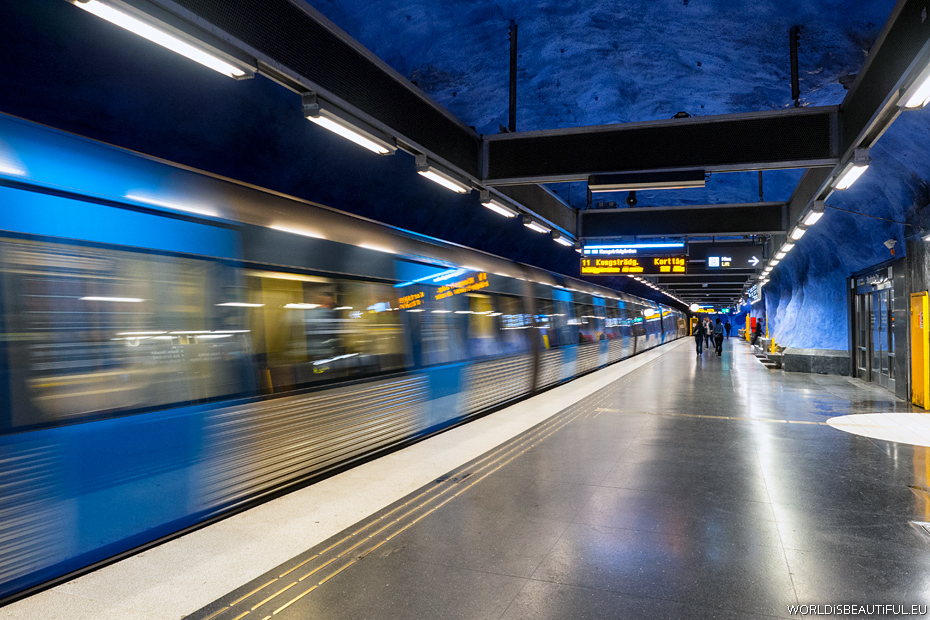 Stockholm metro, godziny otwarcia