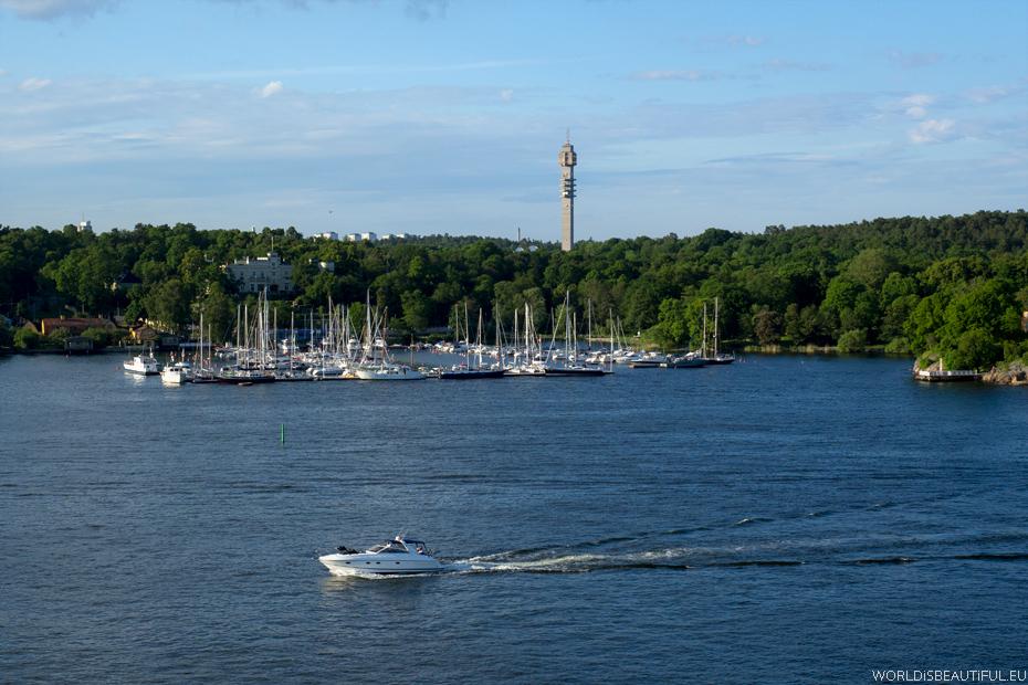 Wieża widokowa Kaknäs