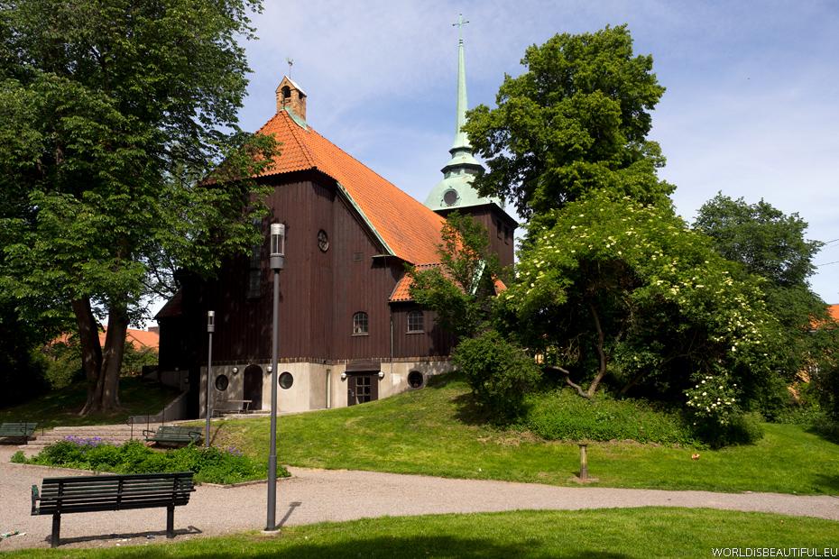 Zabytki, Kościół Allhelgonakyrkan