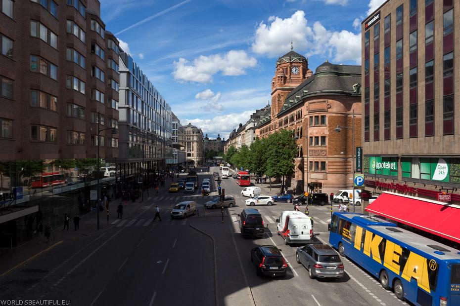 Ulice w Sztokholmie