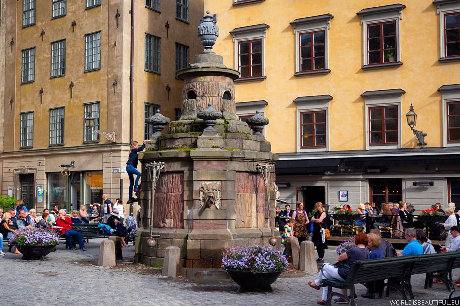 Rynek (Stortorget) w Sztokholmie