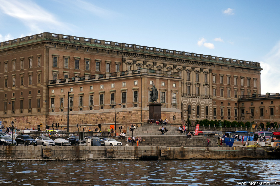The Royal Palace in Stockholm