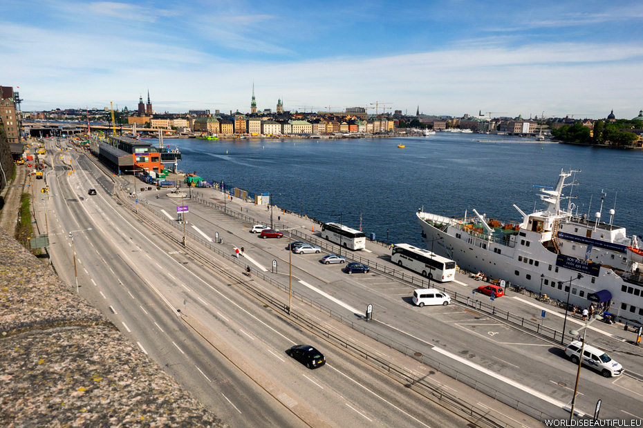 Gamla Stan and Hotel M/S Birger Jarl