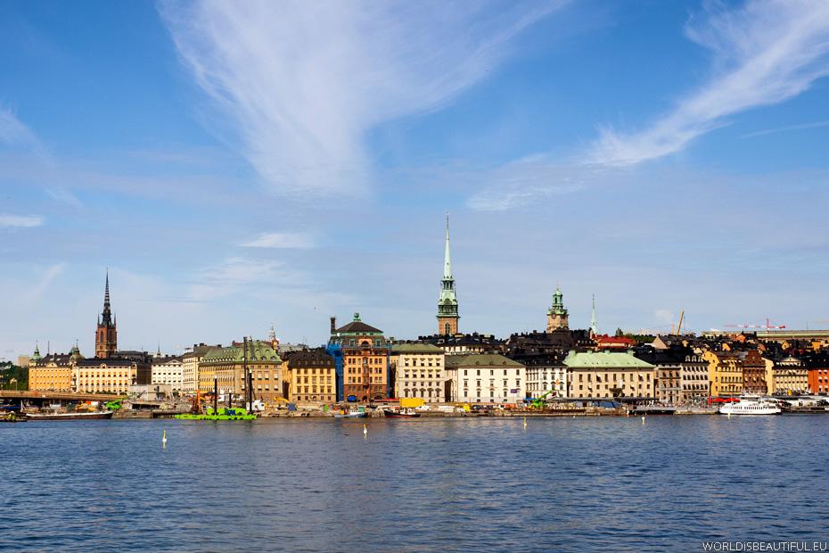 Ranek w Sztokholmie
