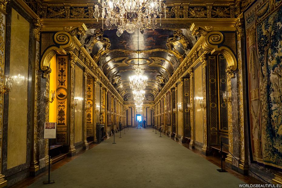 Sztokholm - zwiedzanie Pałacu Królewskiego