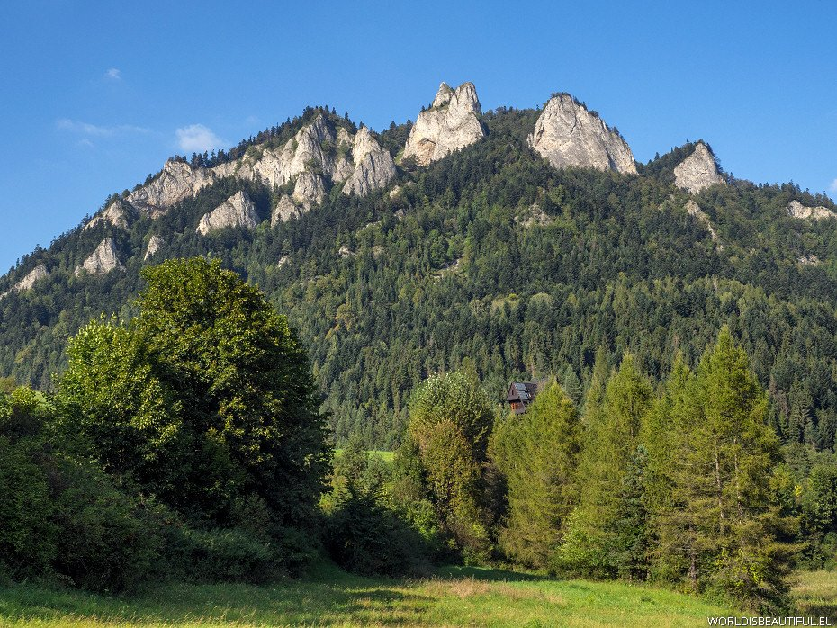 Trzy Korony (Three Crowns), Pieniny