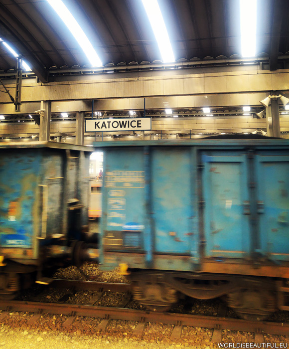 Katowice and the first meeting with coal