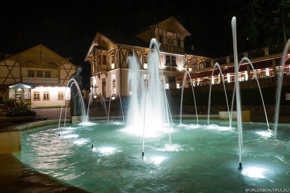 Szczawnica by night