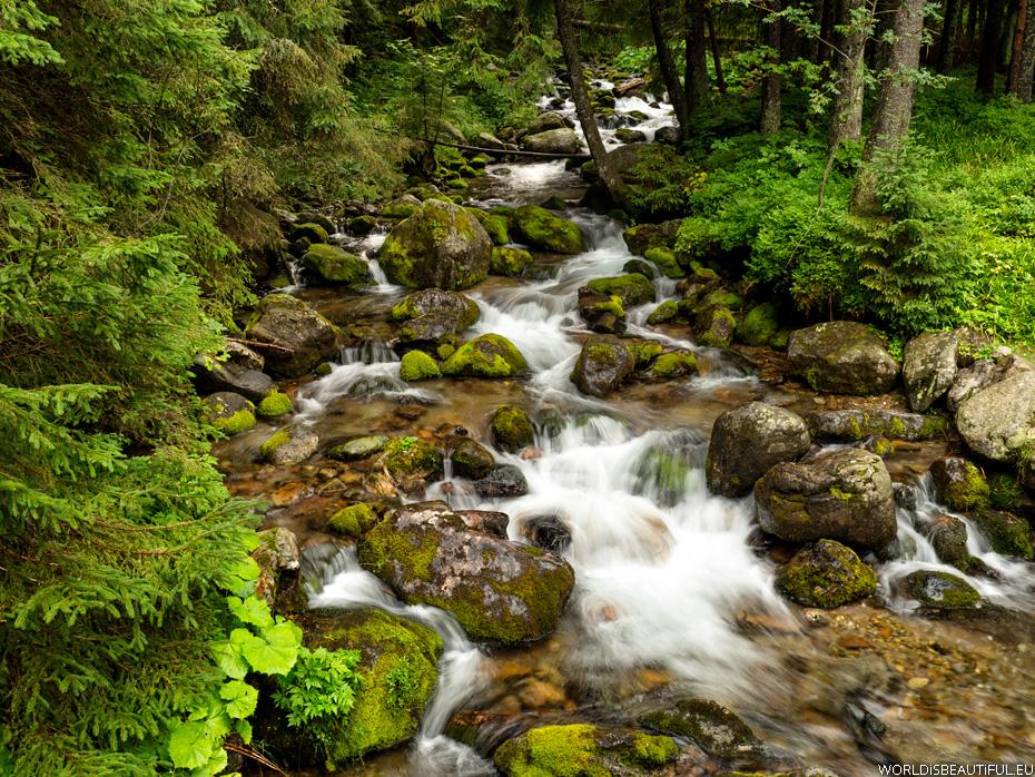 Jak fotografować strumienie i wodospady