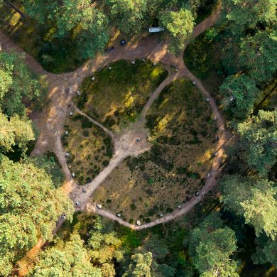 Stone Circles in Odry, Poland