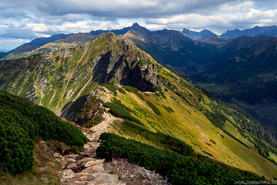 Tatry Zachodnie, szlaki turystyczne