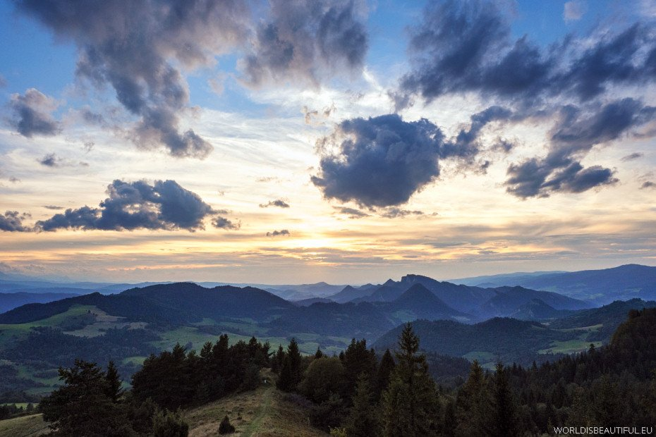 Mountain landscapes, Pieniny