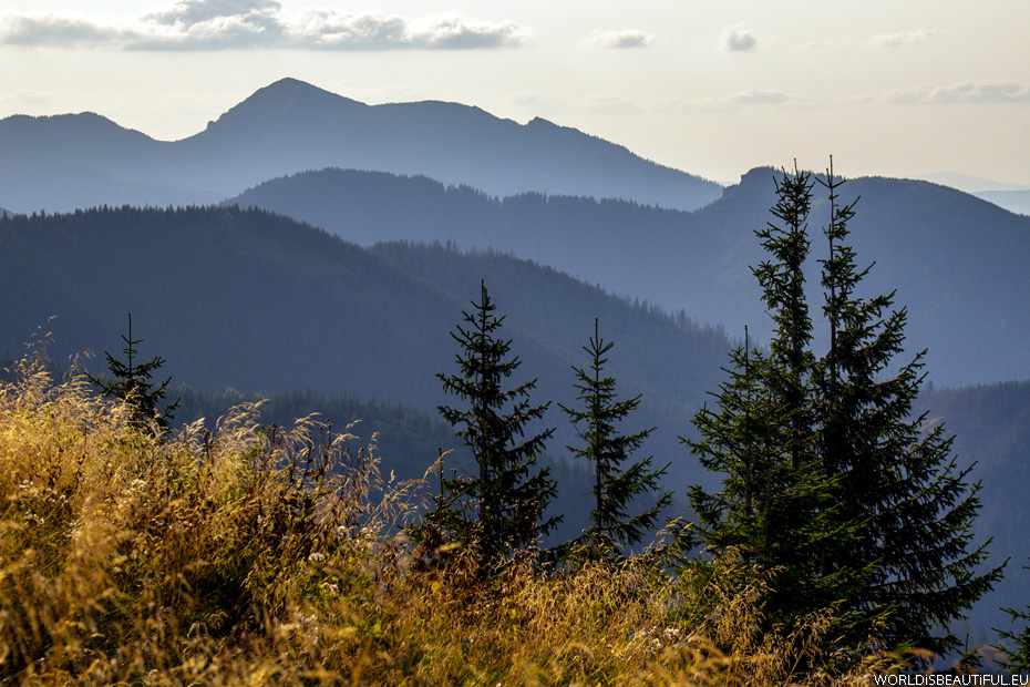 Evening in the Tatras