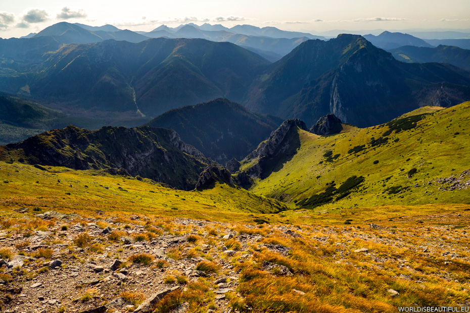 Panorama of the Western Tatras