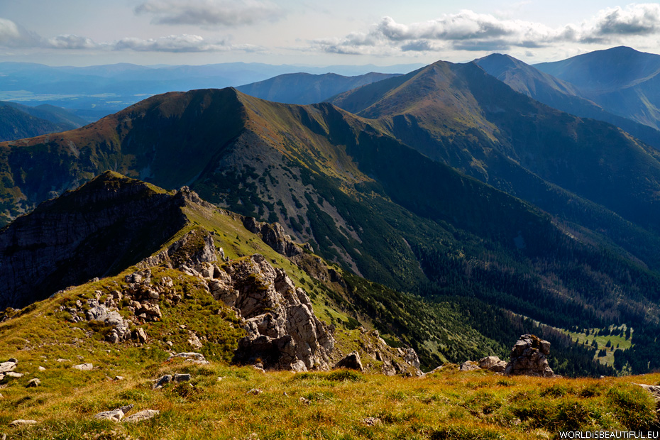 View of the Western Tatras