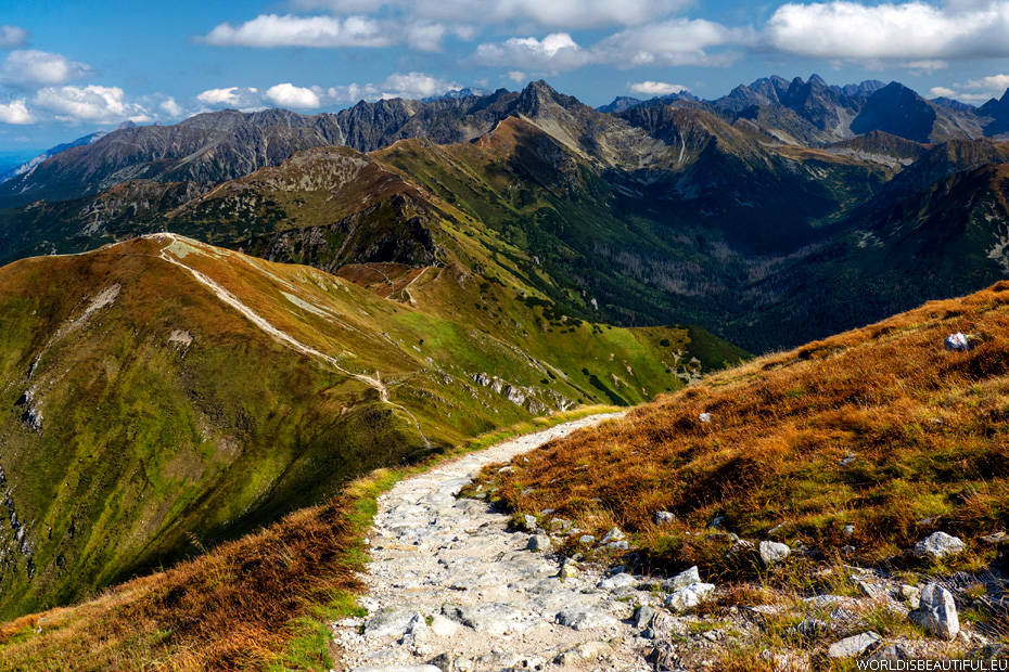 The most beautiful trails of the Tatras