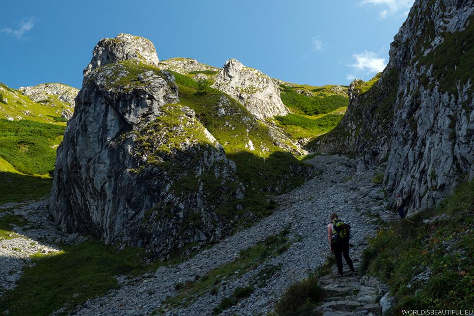 Tatra Mountains, hiking trails