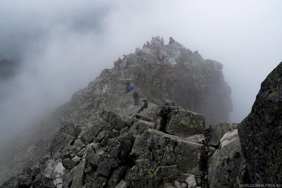 Rysy szczyt 2499 m n.p.m.