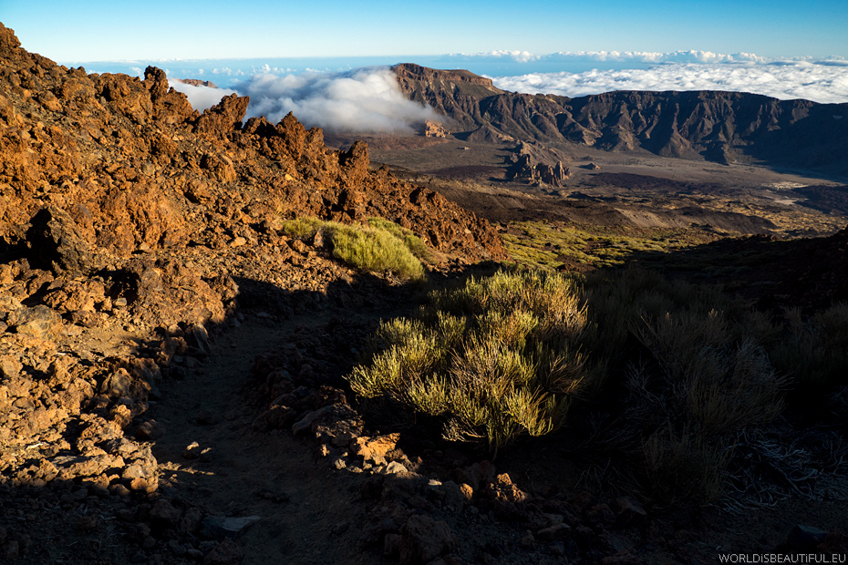Mountain trail in Tenerife