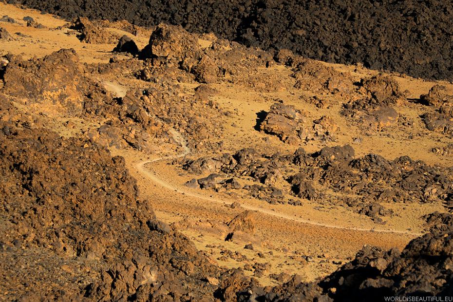 Szlak na Teide, szlak trekkingowy