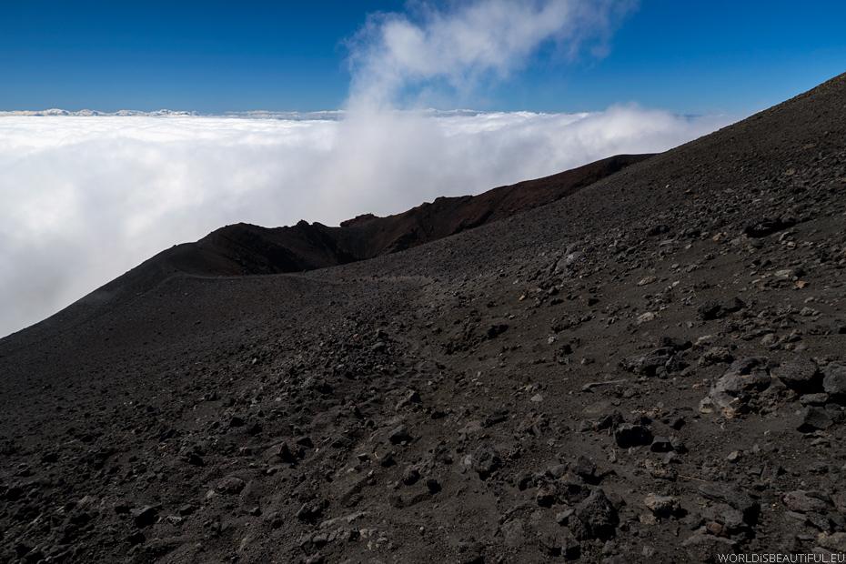 Trekking po wulkanie
