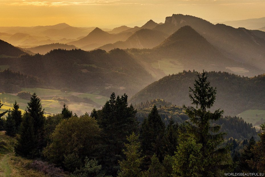 Beautiful mountains - Pieniny Poland