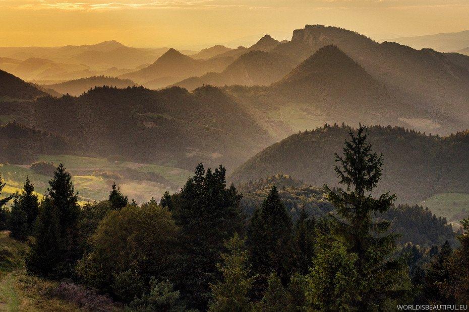 Pieniny - piękne góry