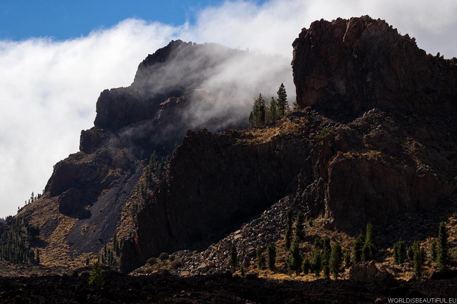 Górskie widoki na Teneryfie
