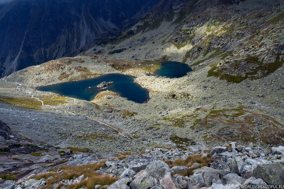 Lakes in the high mountains - Żabie plesa