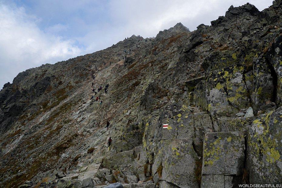 Rysy - wejście na szczyt