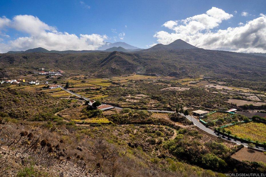 Widok na dolinę Valle de Arriba
