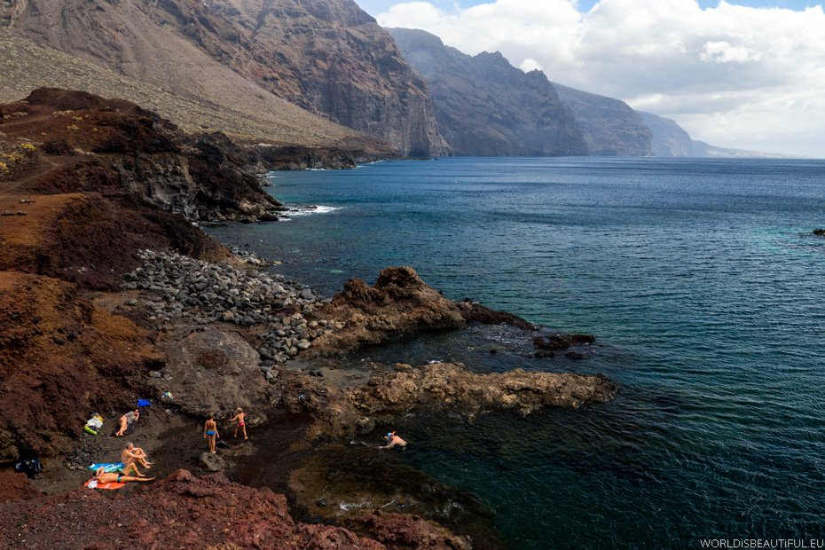 Plaża Playa Punta De Teno
