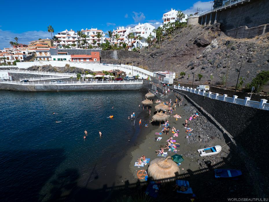 Beaches in tenerife photography photo gallery - Puerto santiago tenerife mapa ...