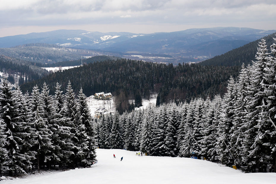 Ski slopes in Poland