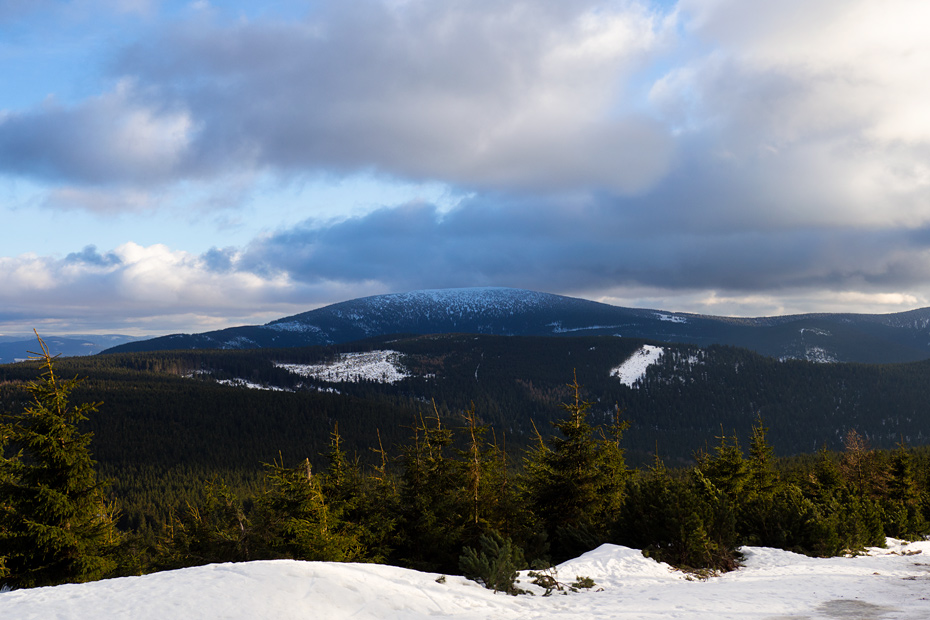Snieznik - the highest peak of the Eastern Sudetes