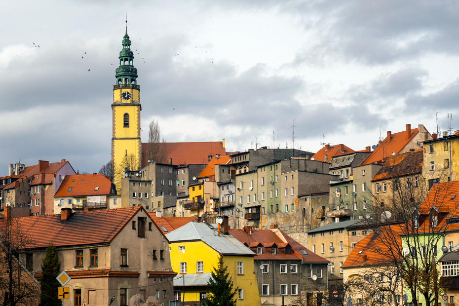 Bystrzyca Kłodzka, panorama miasta