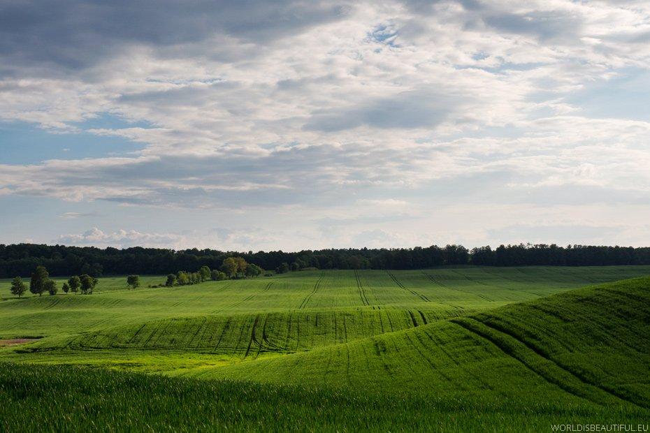 Wiosenne mazurskie krajobrazy