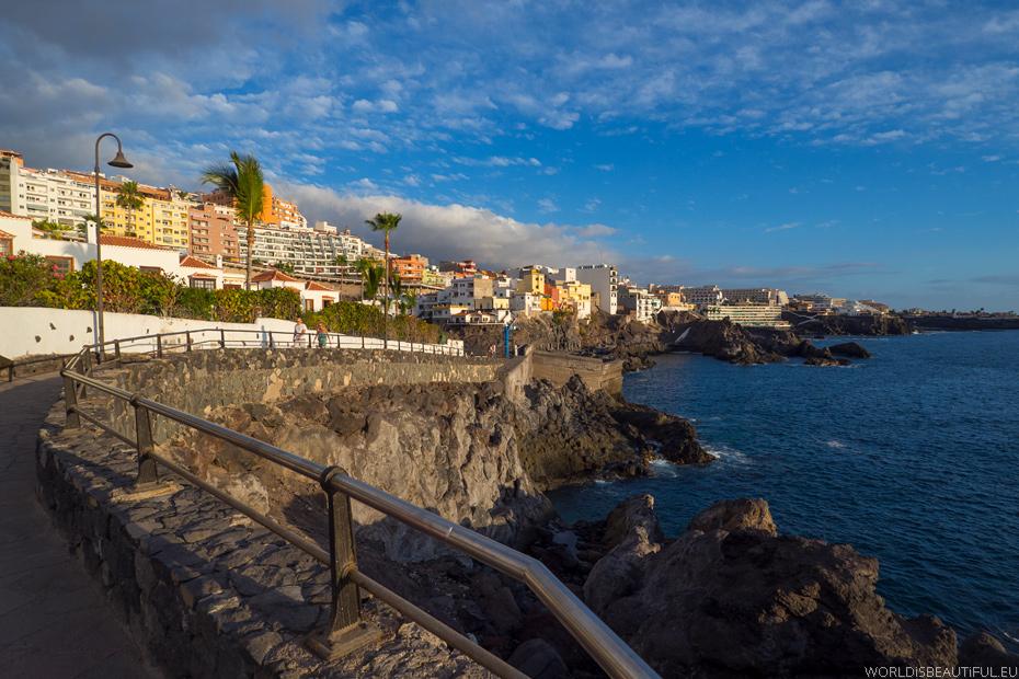 A promenade along the ocean