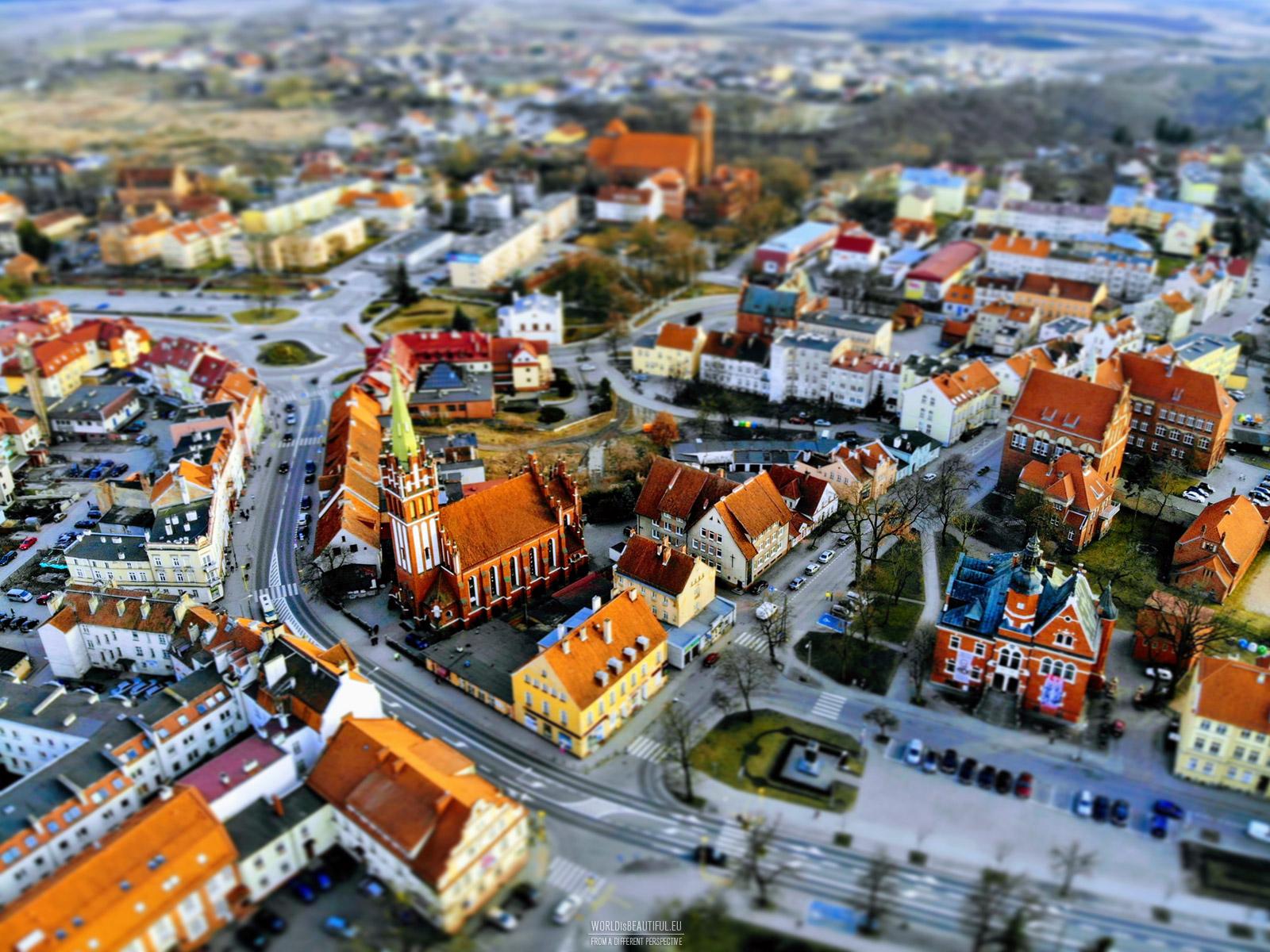 Tilt Shift - miniature city effect