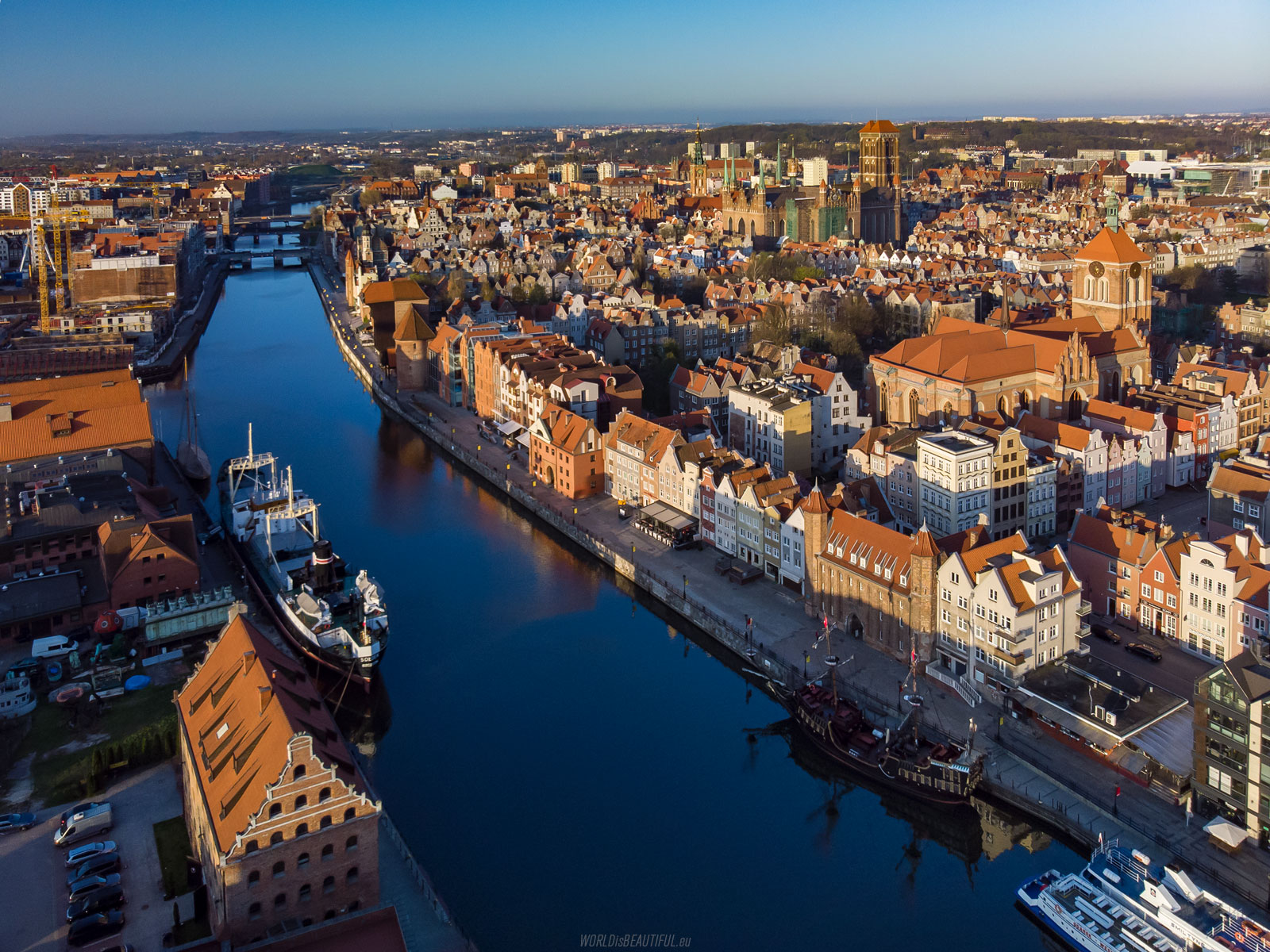 Gdansk from above