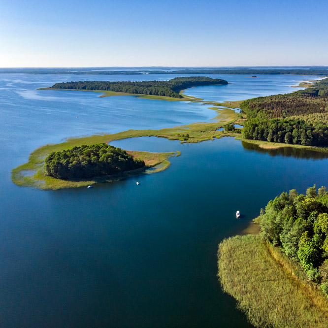 Cruise on Mazury