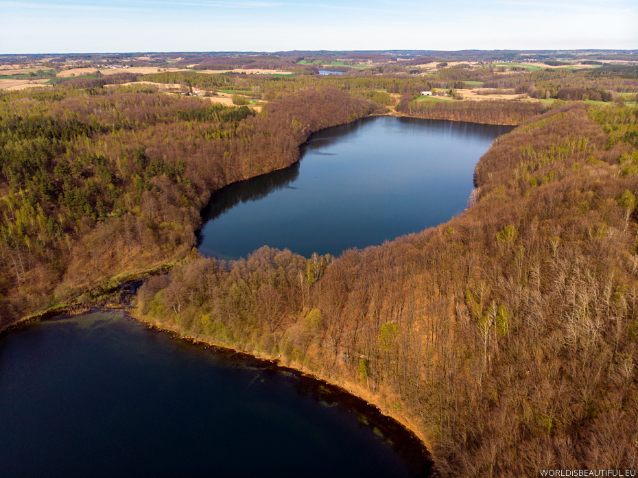 Aerial photos of Kashubia Poland